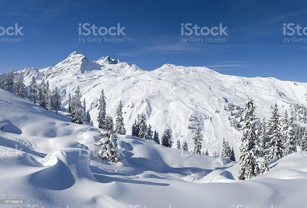 Austrian alps (image size XXXL) stock photo