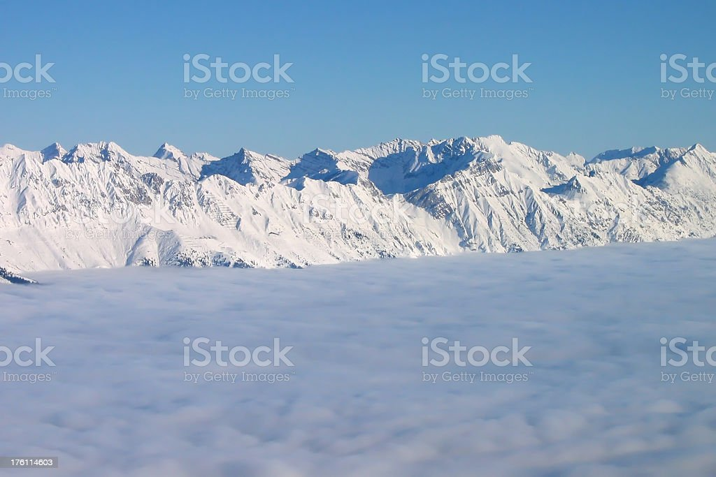 Austrian Alps royalty-free stock photo