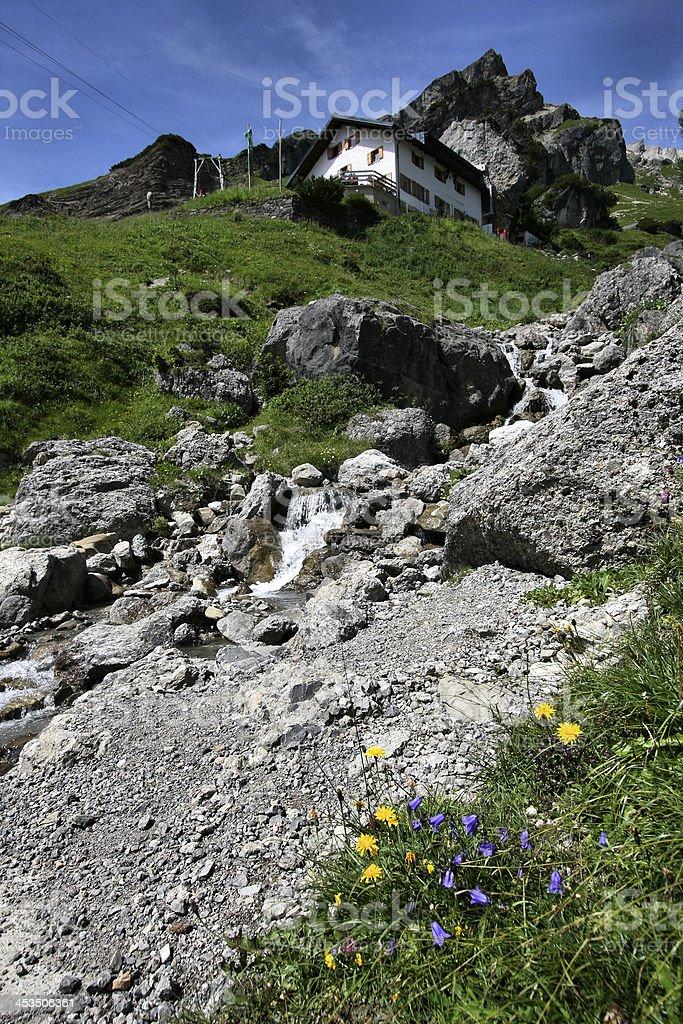 Austrian Alps stock photo