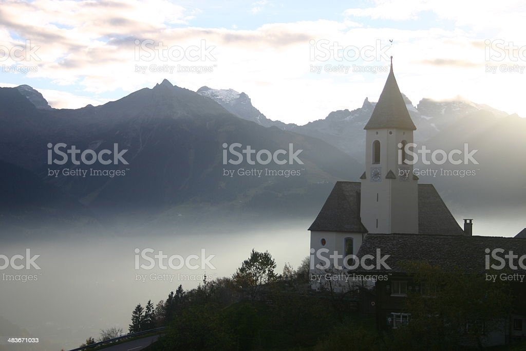 Austrian church 1 stock photo