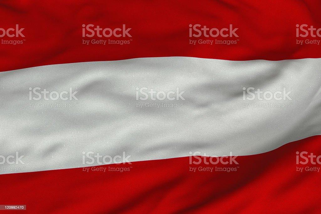 Austrian Flag stock photo