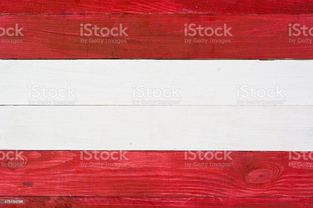Bandera austríaca foto de stock libre de derechos