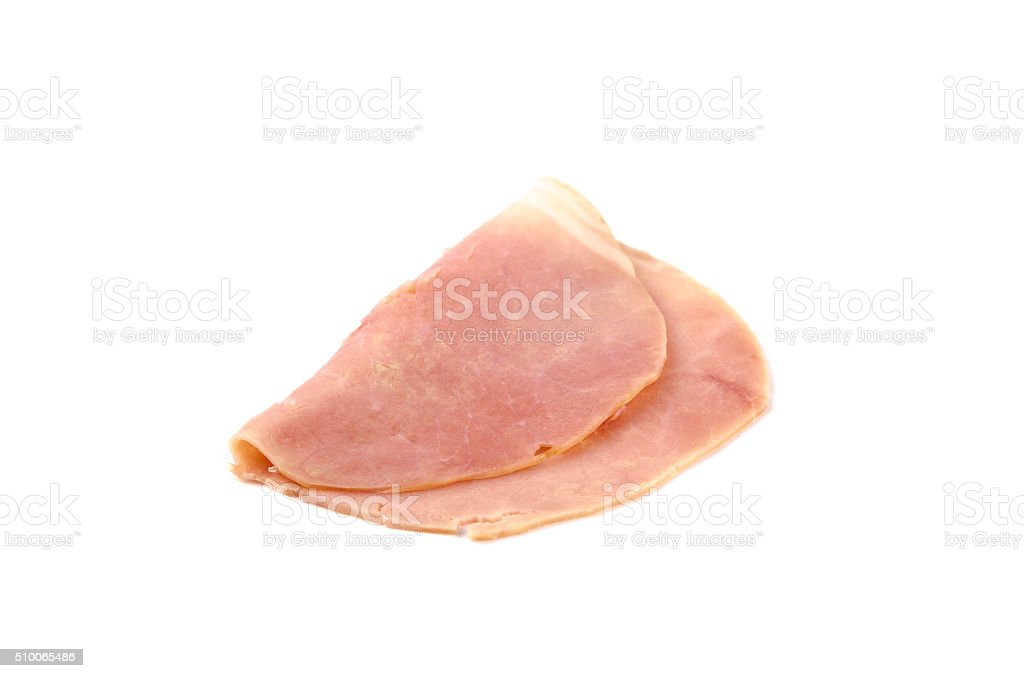 Austrian German ham pork sausage cold cuts stock photo