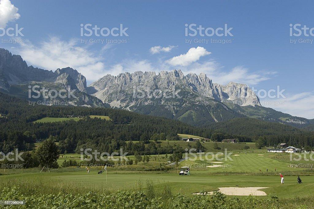 Austrian Golf stock photo