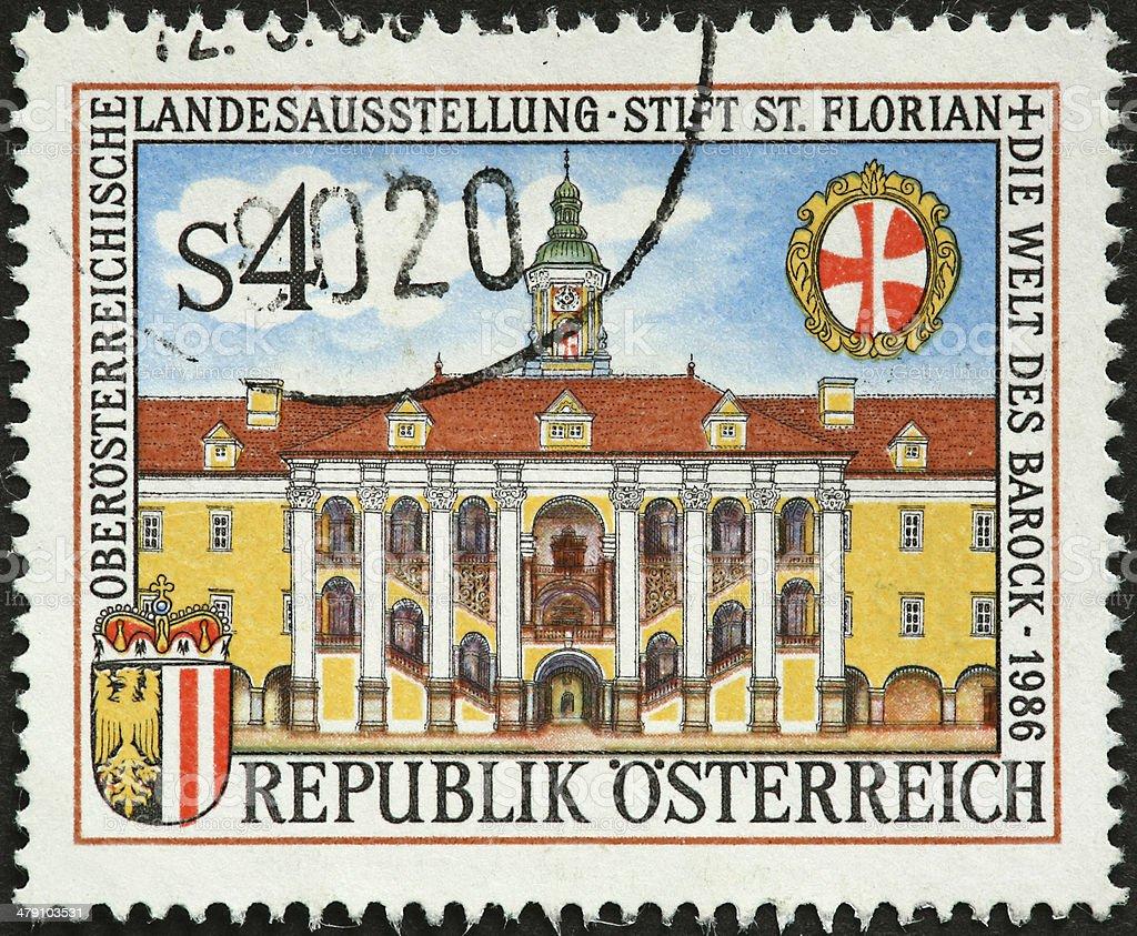 Austrian landmark royalty-free stock photo
