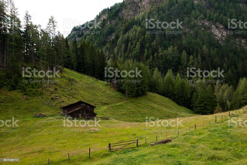 Austrian landscape stock photo