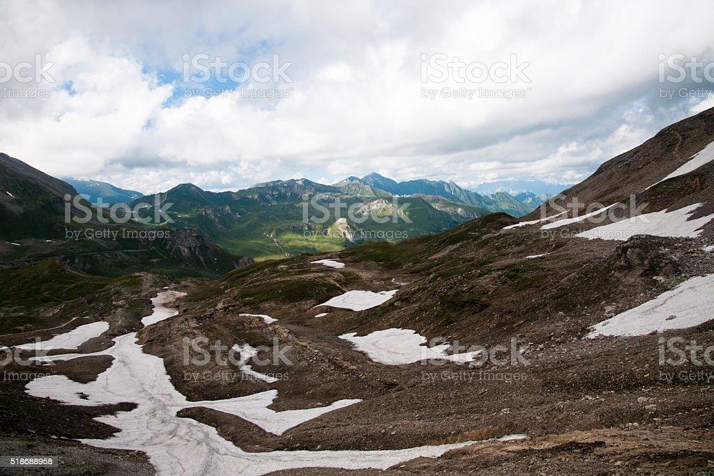 Austrian landscape - Tirol stock photo