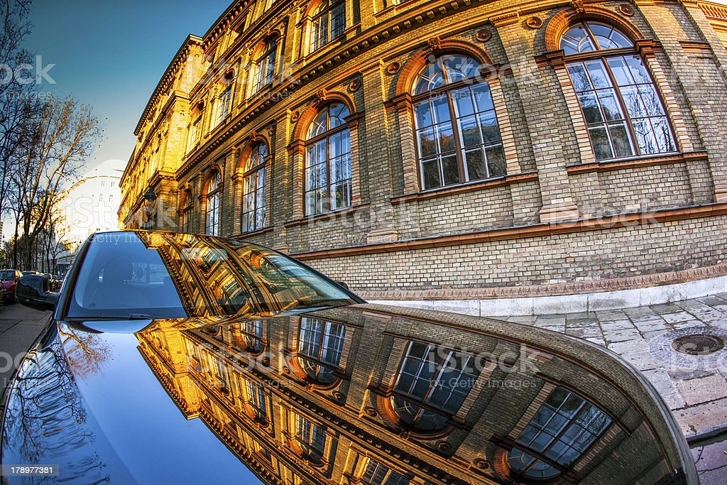 Austrian Museum of Applied Arts in Vienna stock photo