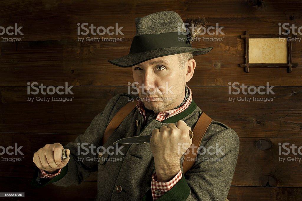 Austrian ranger stock photo