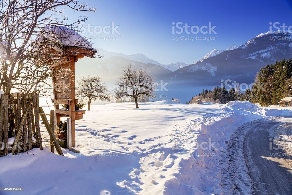 Austrian Winter stock photo