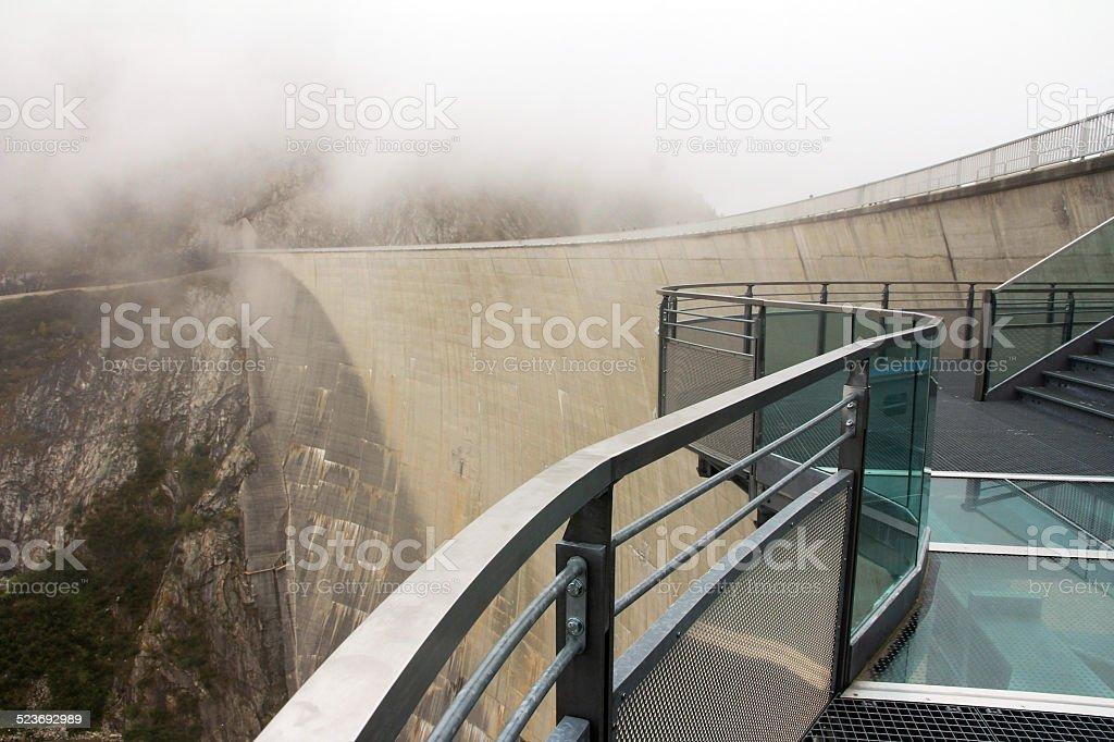 Austria's largest dam stock photo