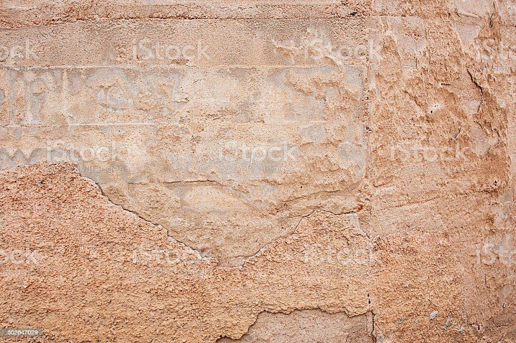Authentic Adobe Mud Southwest Wall Background royalty-free stock photo