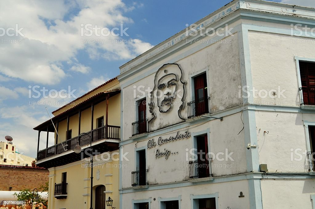Authentic Camaguey Cuba colonial town holidays vacation touristic city stock photo