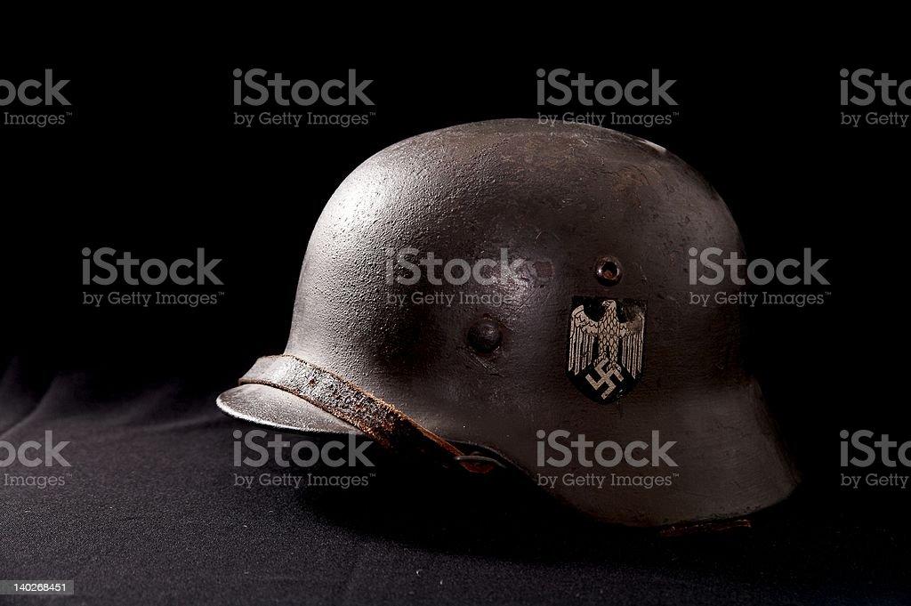Authentic German Helmet royalty-free stock photo