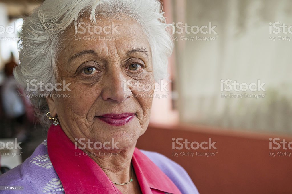 Authentic Jewish Mother stock photo