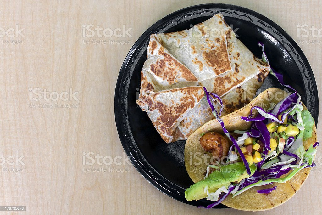 Authentic Mexican Food stock photo