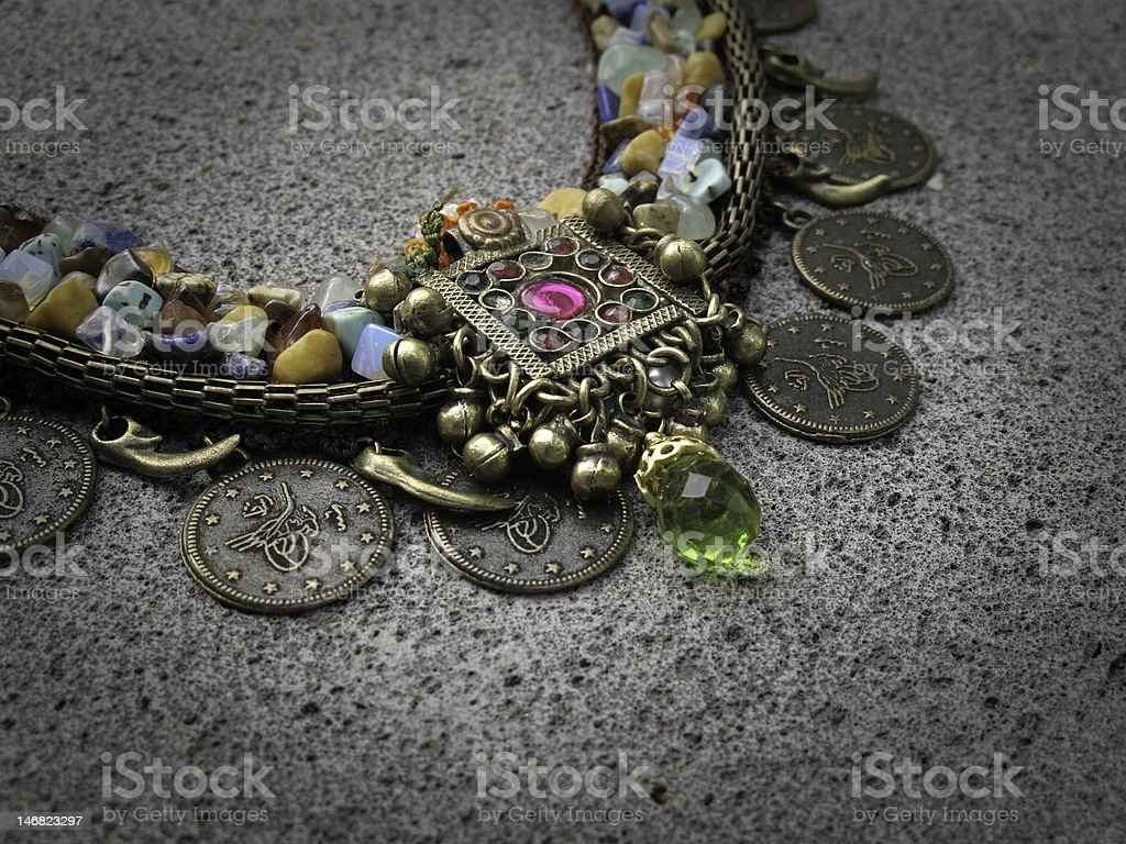 authentic necklace royalty-free stock photo