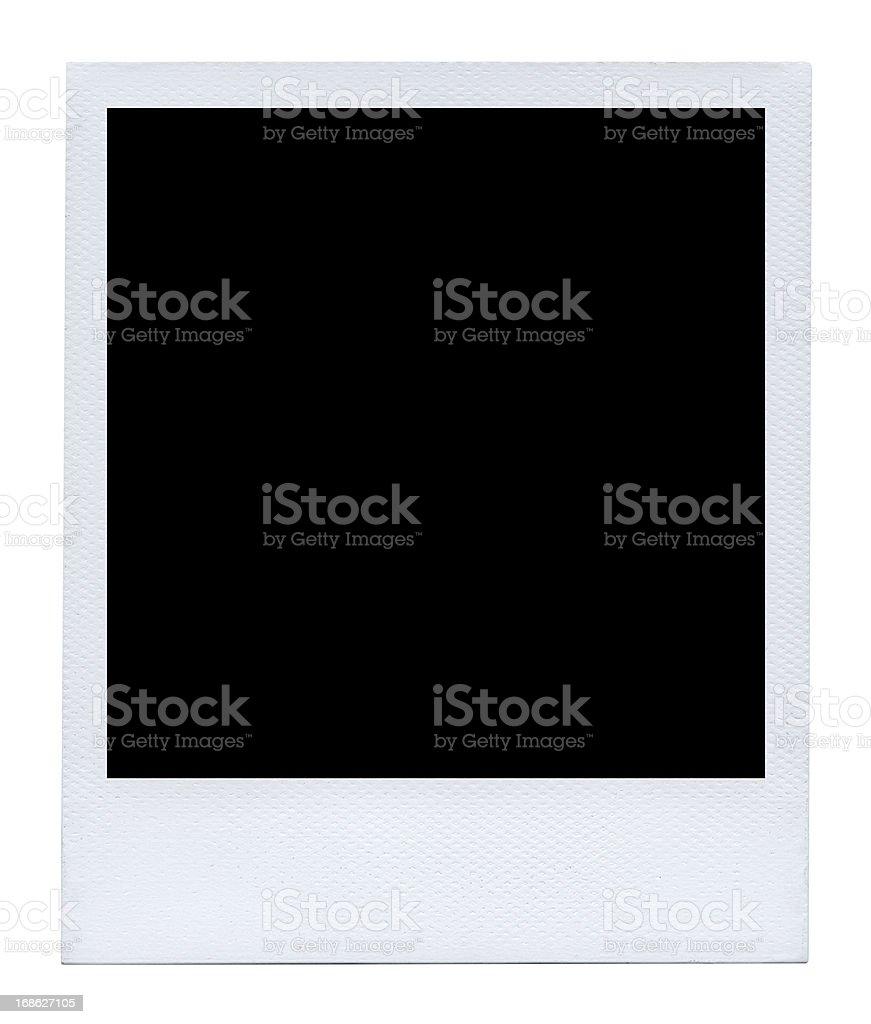 Authentic Polaroid stock photo