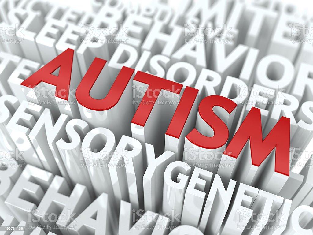 Autism Concept. stock photo