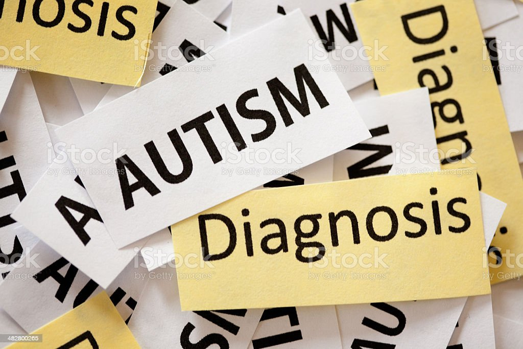 Autism Diagnosis stock photo