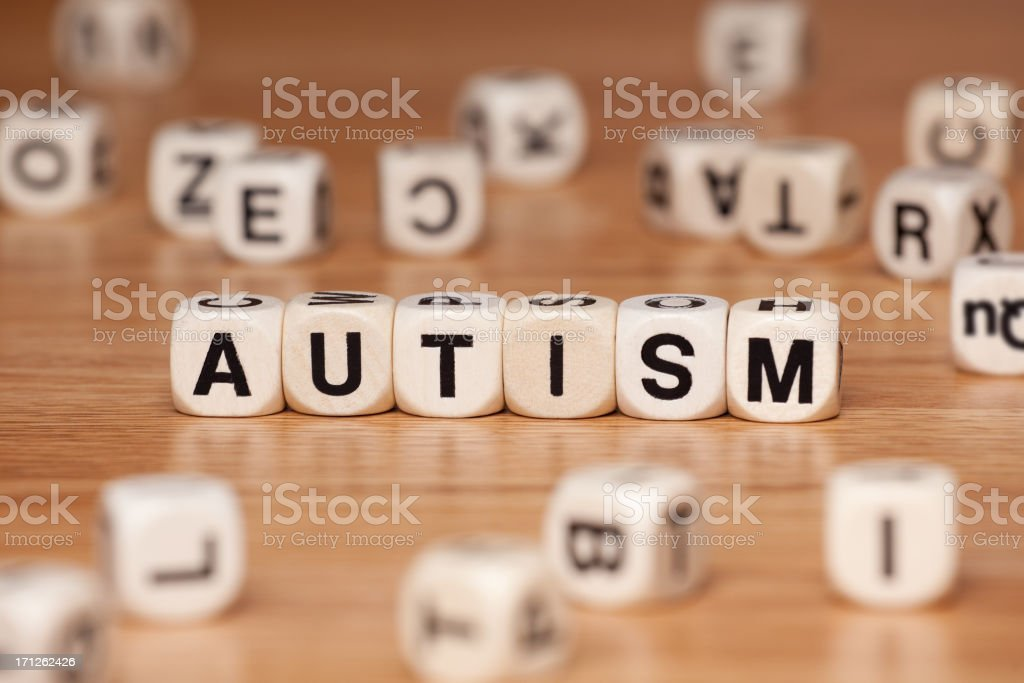 Autism royalty-free stock photo
