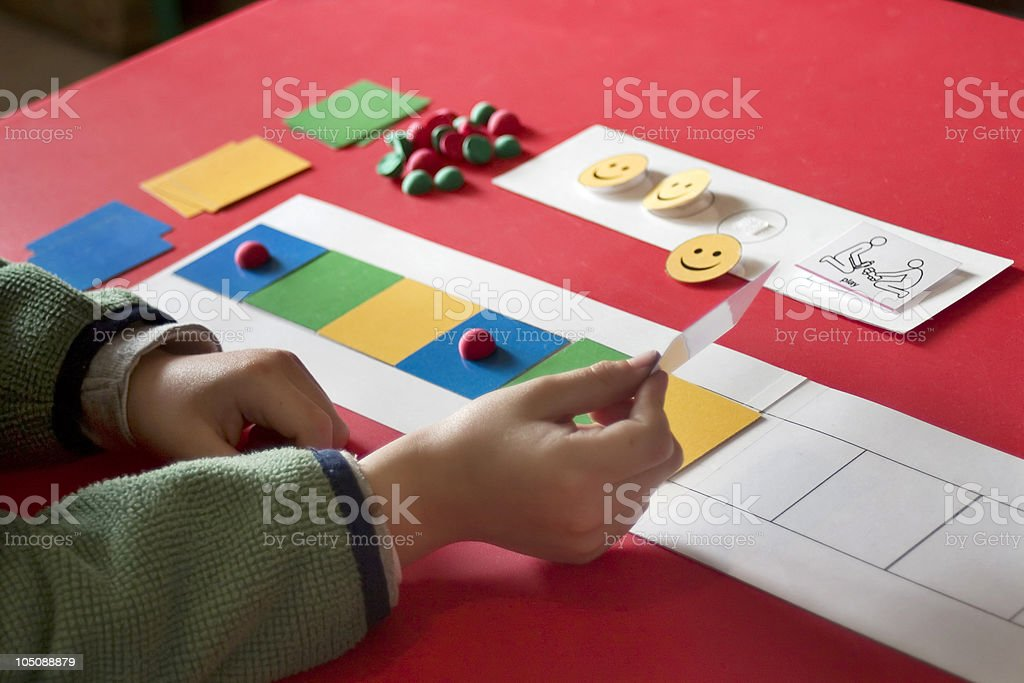 Autism therapy stock photo