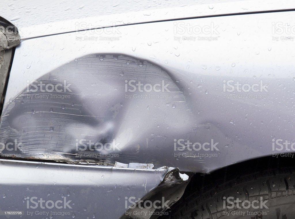 Auto Accident royalty-free stock photo