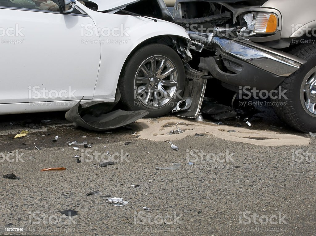 Auto Accident royalty-free stock photo