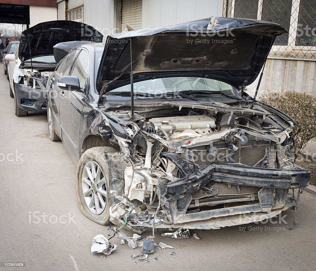 Auto Accidents royalty-free stock photo