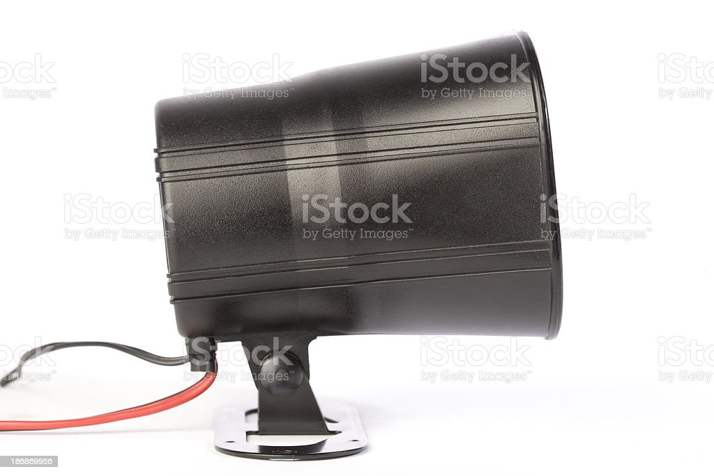 Auto Alarm royalty-free stock photo