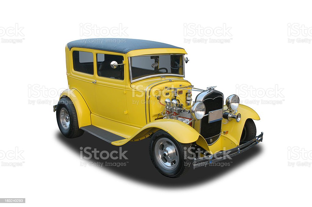 Auto Car - 1931 Ford Model A Hot Rod royalty-free stock photo