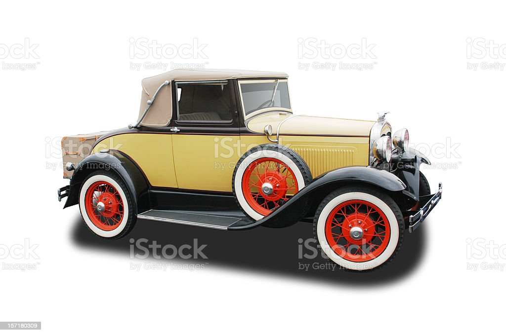 Auto Car - 1931 Ford Model A royalty-free stock photo