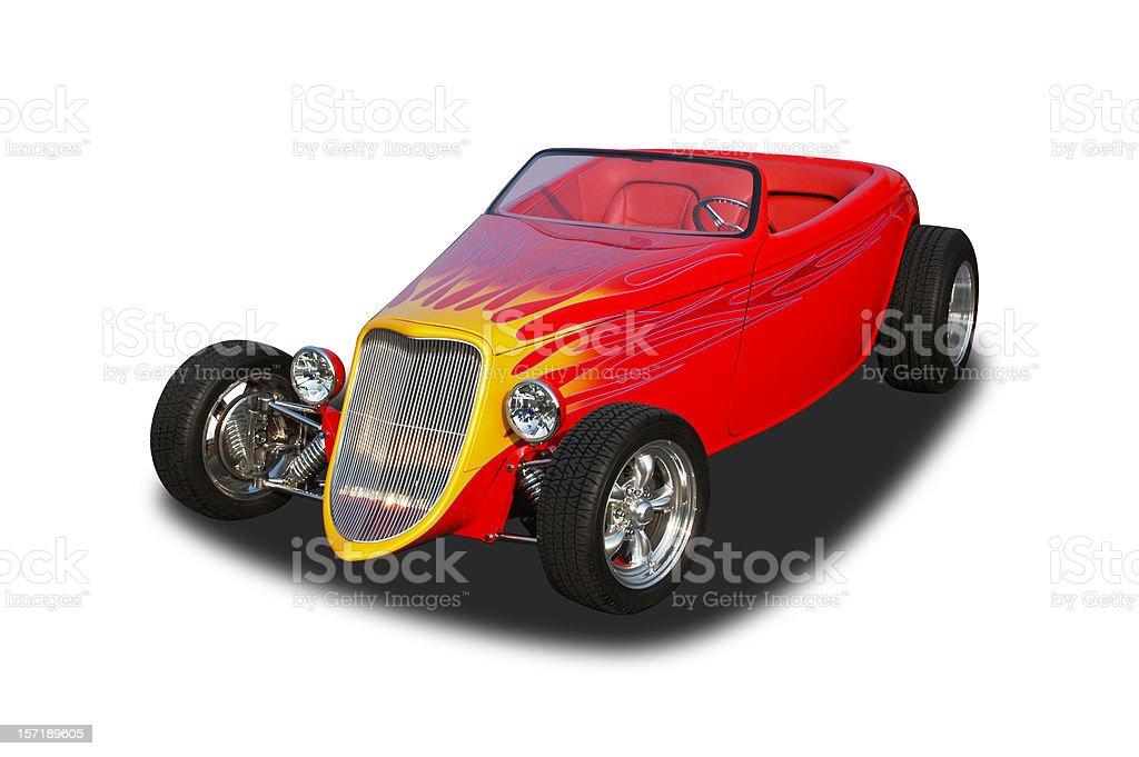 Auto Car - 1933 Roadster Hot Rod royalty-free stock photo