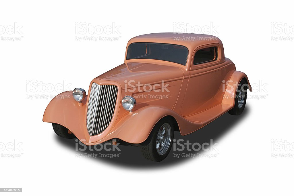 Auto Car - 1934 Ford Hot Rod royalty-free stock photo