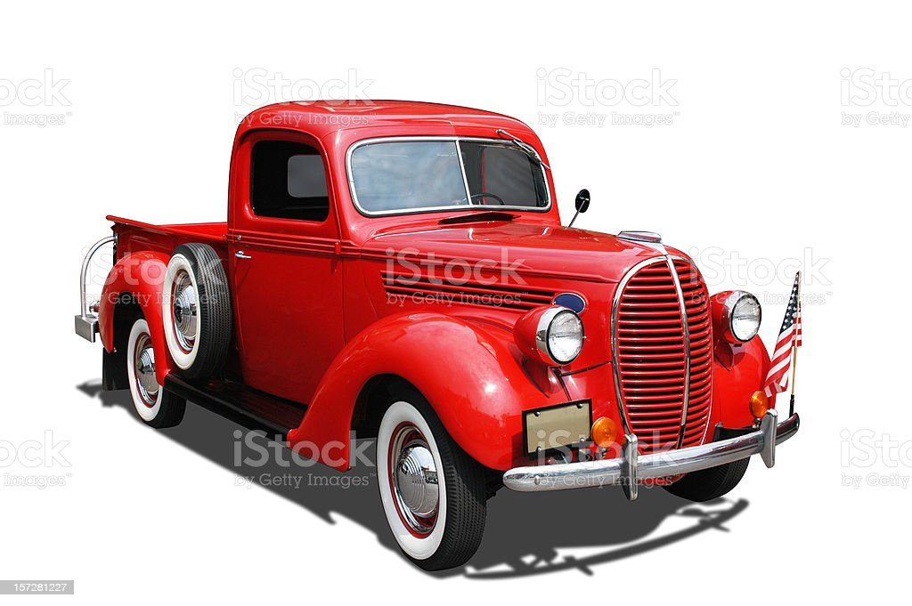 Auto Car - 1939 Ford Pickup Truck royalty-free stock photo