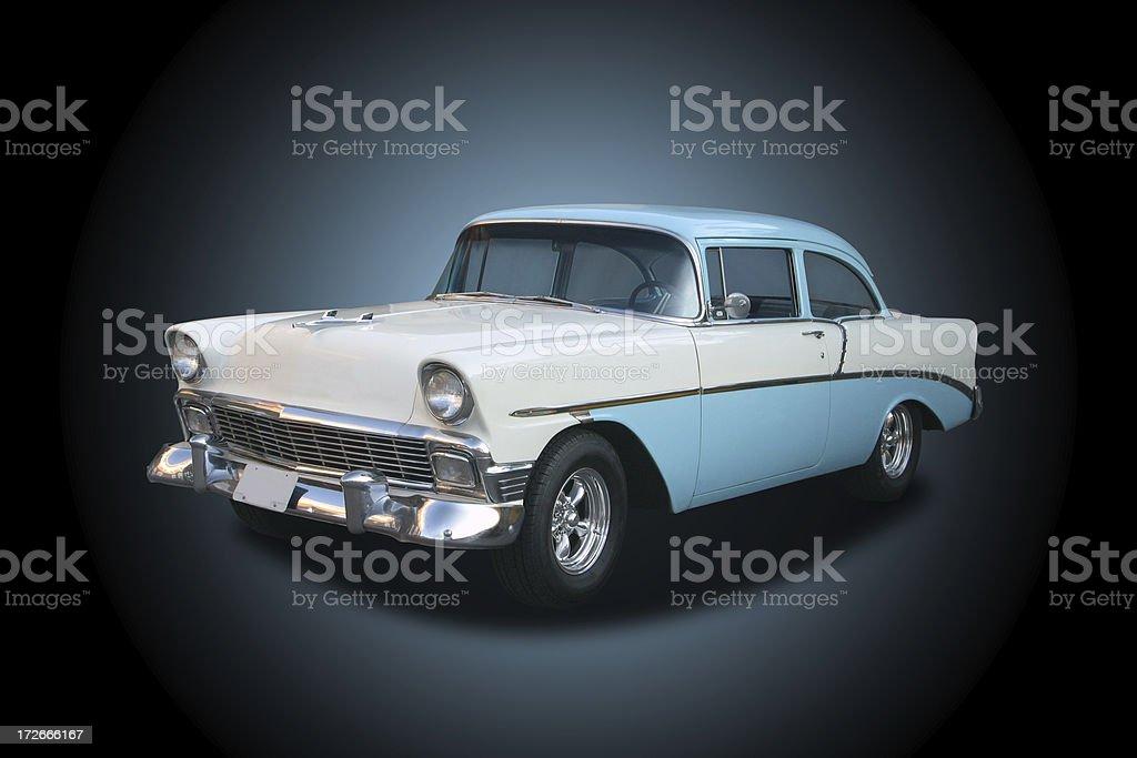 Auto Car - 1956 Chevrolet stock photo