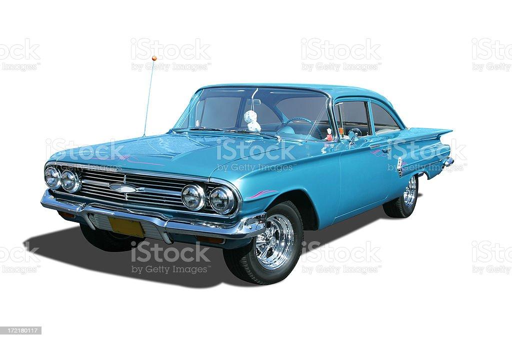 Auto Car - 1960 Chevrolet Biscayne stock photo
