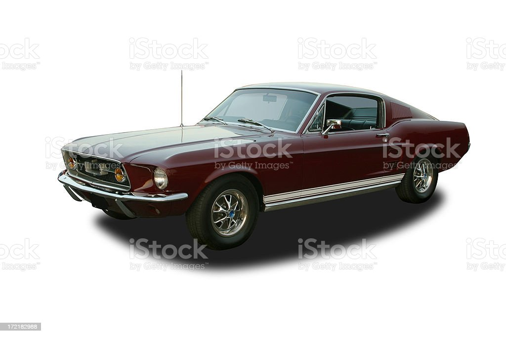 Auto Car - 1967 Ford Mustang GT stock photo