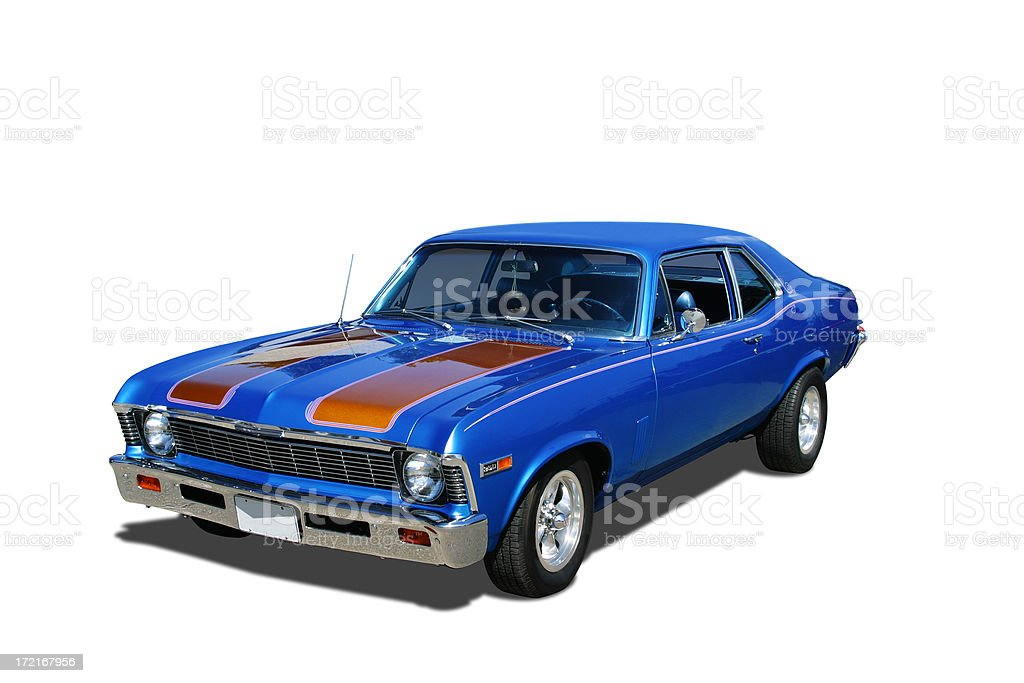 Auto Car - 1969 Chevrolet Nova stock photo