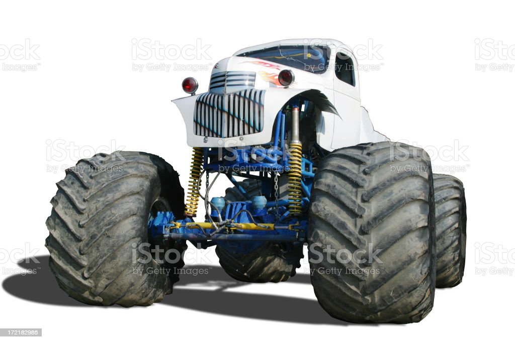 Auto Car - Monster Truck royalty-free stock photo
