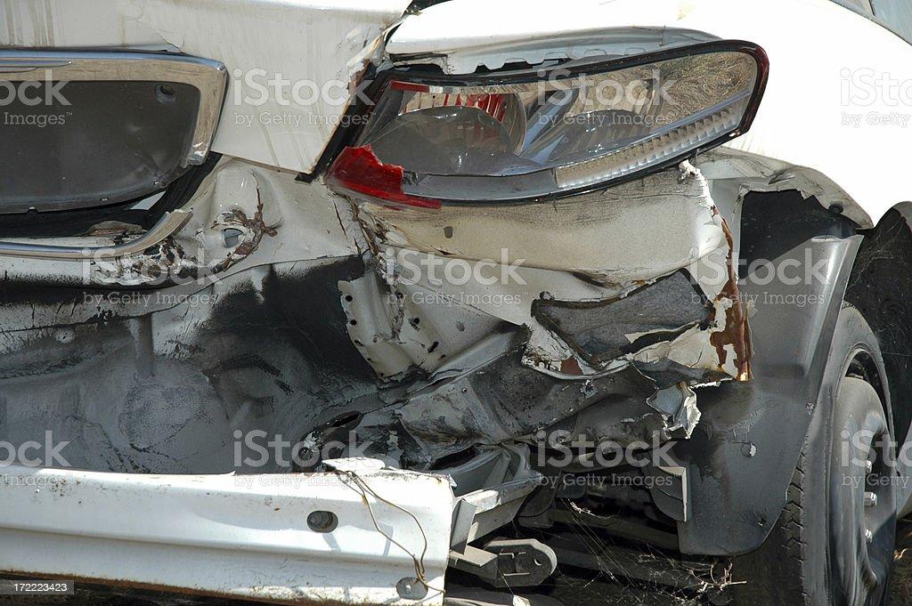 Auto collision royalty-free stock photo