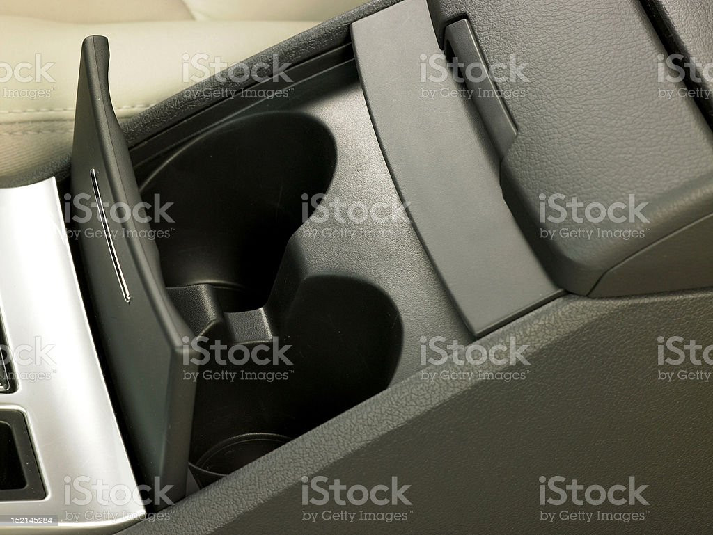 Auto, Cup Holder stock photo
