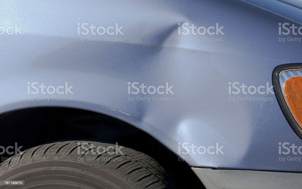 Auto Damage royalty-free stock photo