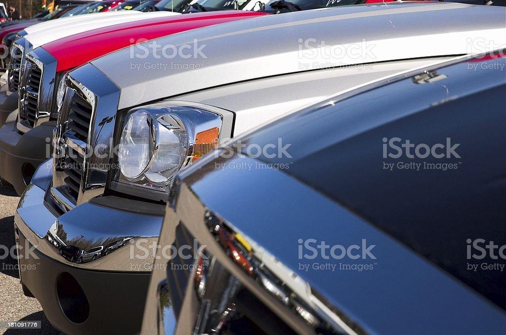 auto dealership royalty-free stock photo