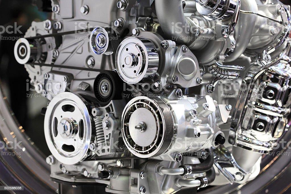Auto - Engine stock photo