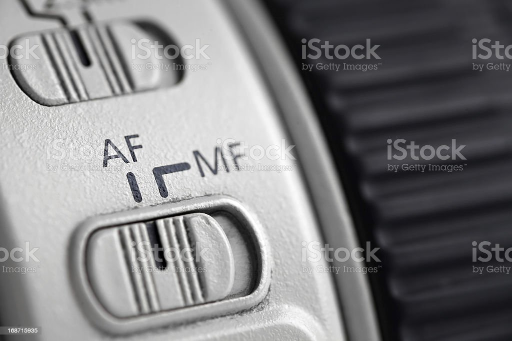 Auto focus stock photo