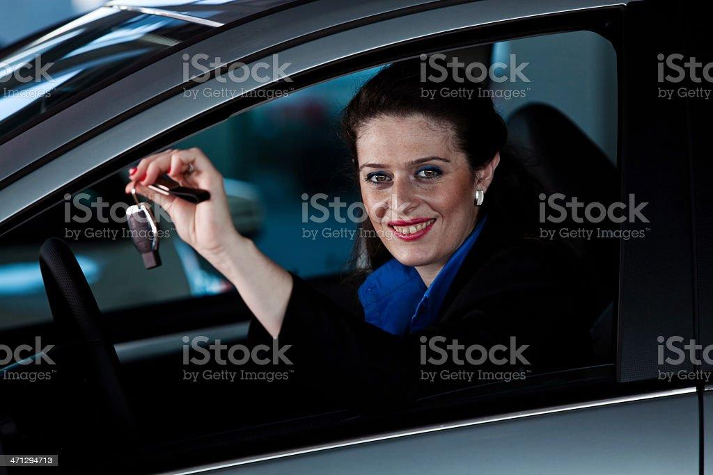 Auto key stock photo