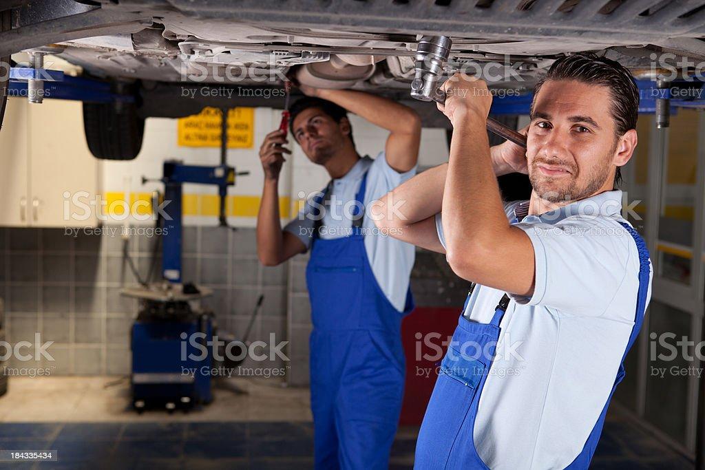 Auto Mechanic royalty-free stock photo