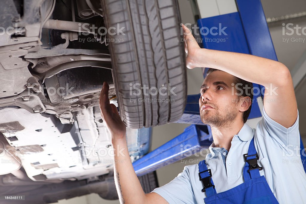 Auto Mechanic royalty-free stock photo