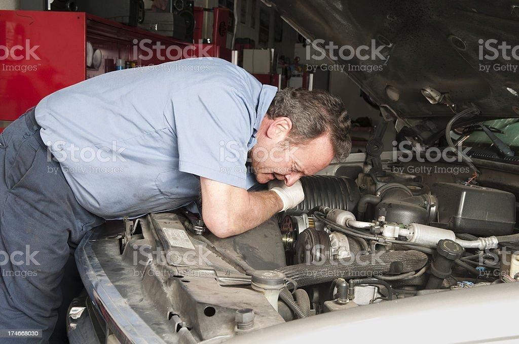 Auto Mechanic Series royalty-free stock photo